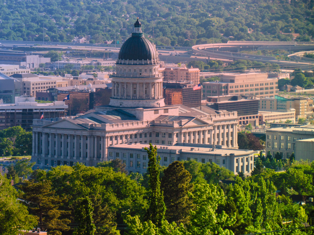 Utah capitol building in salt lake city places to see in for Building a house in utah
